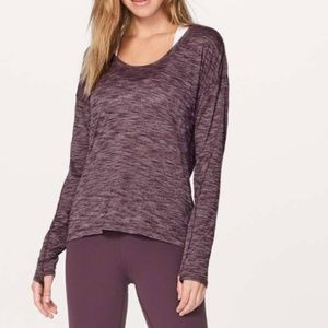 Lululemon Meant To Move Long Sleeve Top